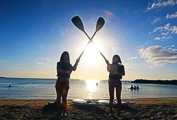 コロナに負けない!プライベートツアーで密を回避!沖縄のサップツアー体験🏄